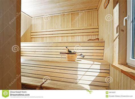 Sauna D Int Rieur by Int 233 Rieur En Bois De Sauna Photo Stock Image 58516507