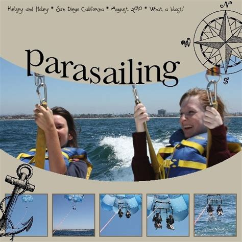 Disney Idea Book Scrapbooking And Crafting Ideas 12 best parasailing layouts images on hang