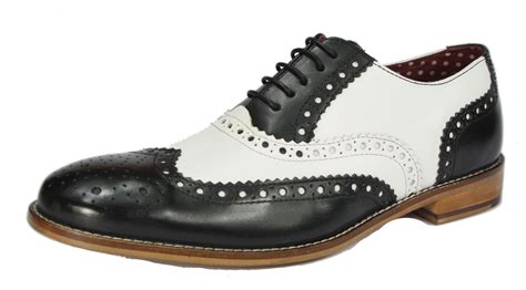 brogues boots brogues mens leather lace up wingtip formal gatsby