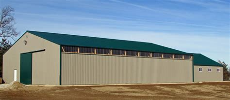 Building A Farm Shed by Farm Buildings In Iowa And Illinois Greiner Buildings
