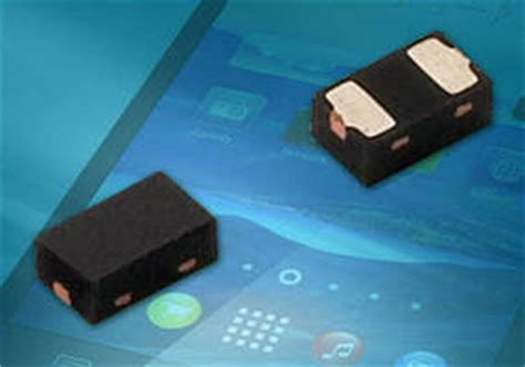esd protection diode 3 3v vishay esd diode 28 images vishay s new diode array offers bidirectional esd protection and