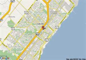 oakville ontario canada map map of oakville pictures to pin on pinsdaddy