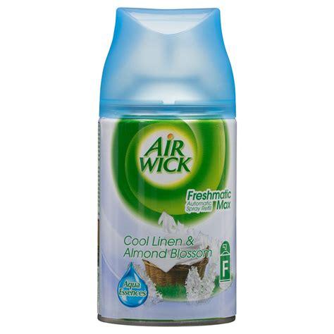 air wick refills b m air wick freshmatic refill cool linen almond blossom 263256 b m