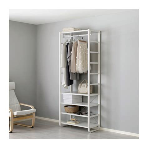 open clothes storage system diy elvarli 1 section ikea