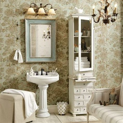 shabby chic bathroom ideas bathrooms decor pinterest