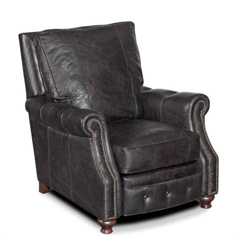 saddle leather recliner hooker furniture seven seas leather recliner chair in old