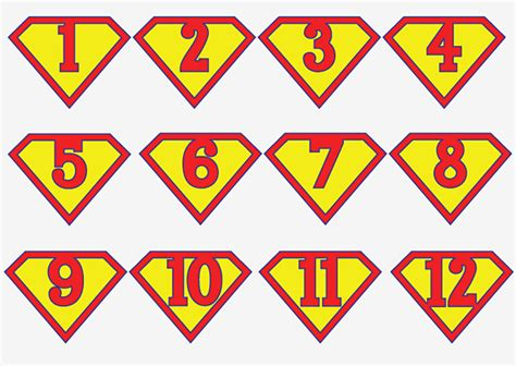 superman alphabet template printable superman birthday banner for a