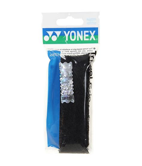 Towell Grip Badminton Yonex Ac 7500 E yonex badminton towel grip ac 402 ex black buy at best price on snapdeal