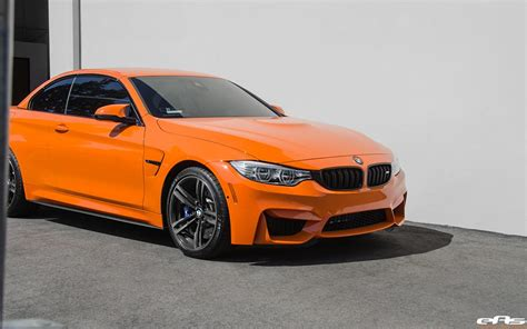 Bmw Orange by Orange Bmw M4 Convertible By Eas