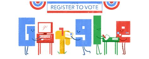 doodle 4 how to vote register to vote the doodle way cnet