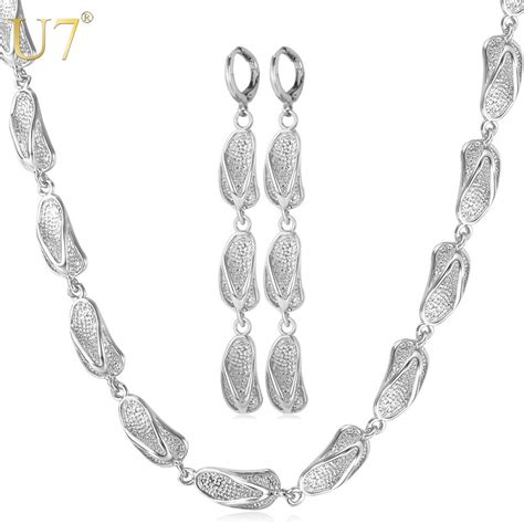 8 Pretty Necklaces For Summer by U7 Summer Jewelry Set Fashion Jewelry Sandals