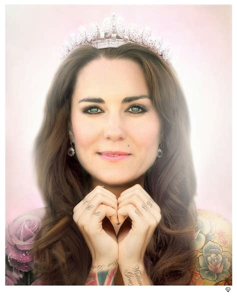 kate middleton tattoo kate middleton colour by jj rennies gallery