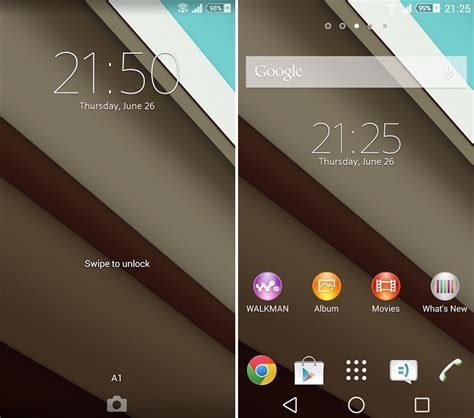 themes for non android android l theme apk file available for sony xperia devices