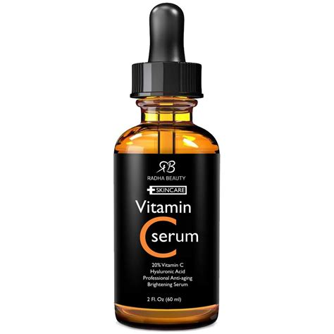 vitamin c serum for anti aging skincare radha