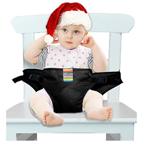 Toddler Chair With Straps by The Washable Portable Travel High Chair Booster Baby Seat