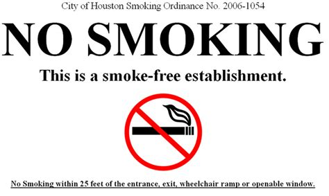 no smoking sign texas herreg 229 rd ordinance