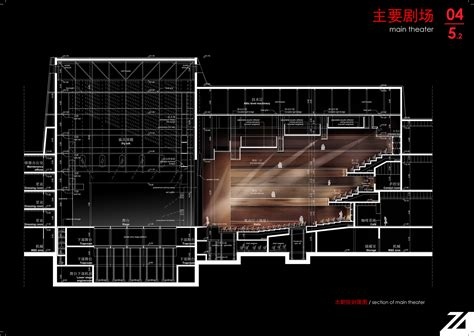 theater section shenzhen performing arts facility zoboki demeter