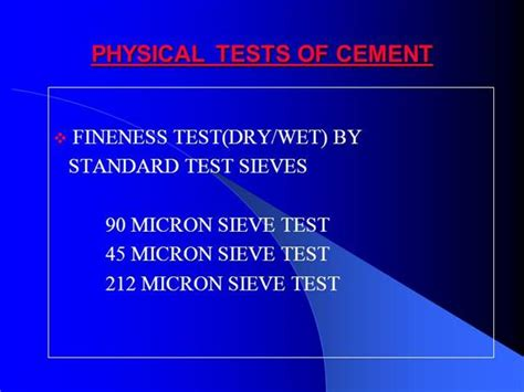 cement ppt themes free download cement physical tests authorstream