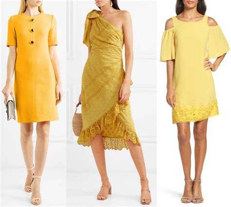 what color with brown shoes what color shoes to wear with a yellow dress
