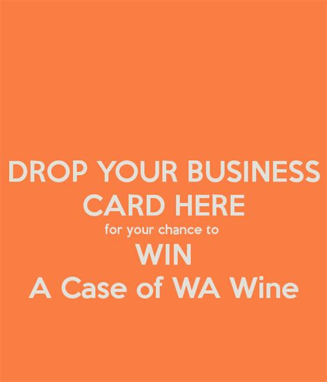drop your business card for a chance to win template drop your business card here for your chance to win a