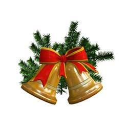christmas bell 3d model