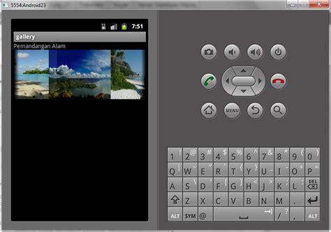 Membuat Aplikasi Android Gallery | membuat aplikasi android gallery view android