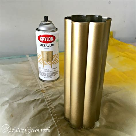 spray painting brass ls diy back to school gift 3 greenwoods