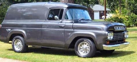 59 ford panel truck 1959 ford f100 panel truck custom rod