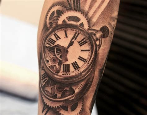 Imagenes De Tatuajes De Relojes Antiguos | tatuaje de reloj antiguo y sus grandes estilos para tu piel