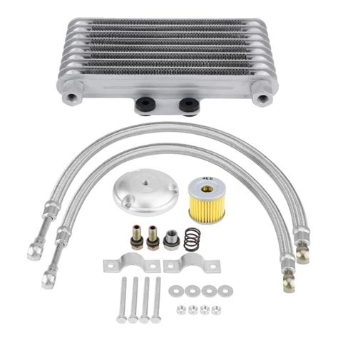 set ml motorcycle oil cooler engine oil cooling