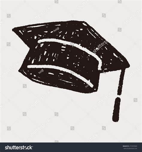 doodle graduation graduation hat doodle stock vector 275397845