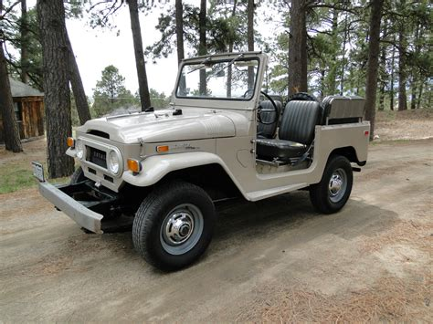 1971 Toyota Land Cruiser Toyota Land Cruiser 1971 White Restored Fj40 4 215 4