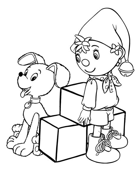 noddy coloring pages games noddy coloring pages for kids printable free coloring