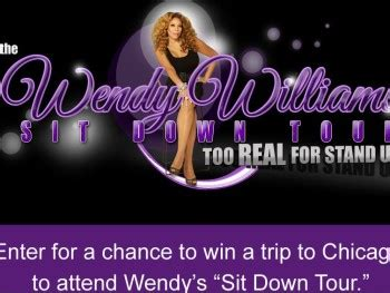 Wendy Williams Sweepstakes - wendy williams sit down tour sweepstakes sweepstakes