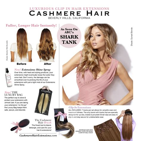best brand of hair extensions in 2014 may 2014 cashmere hair press release cashmere hair clip