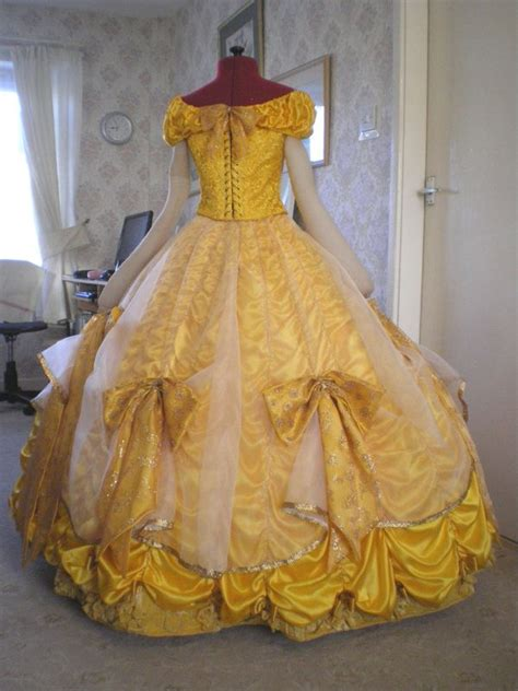 pattern for belle s yellow dress belle s gold ball gown tracy s costuming world musical