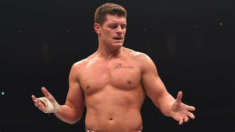 cody rhodes tattoo defeats former tna to win northeast