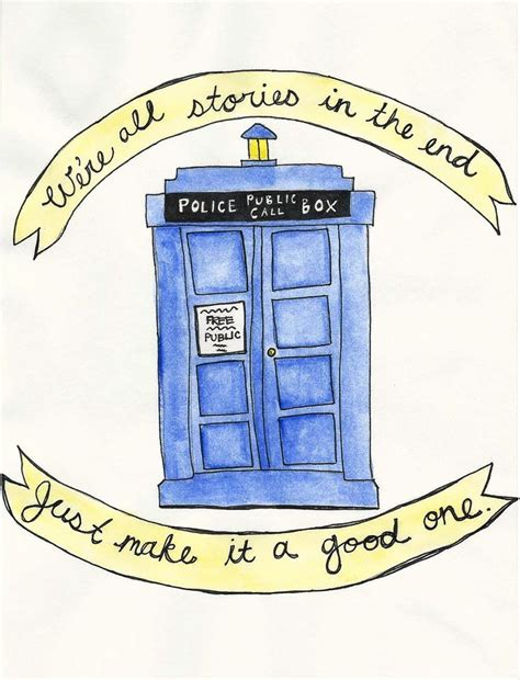 Doctor Who Doodle Lovelies