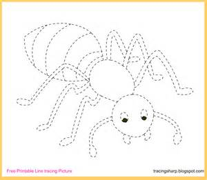 Trace Image Online Free Tracing Line Printable Ant Tracing Picture