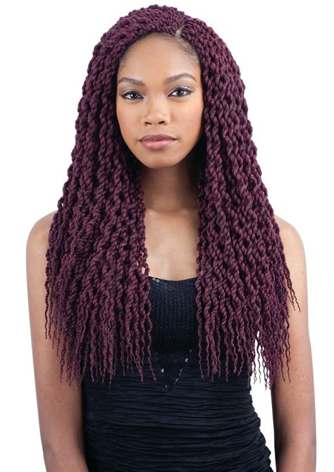 Premade Synthetic Senegalese Twist | curly senegal twist freetress synthetic pre looped