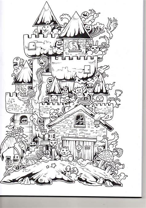 leer libro e doodle invasion zifflins coloring book volume 1 en linea doodle invasion ilustracion colorear dibujo y mandalas