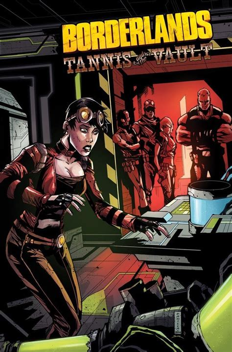 inferno part 1 the vault volume 1 books borderlands vol 3 tannis the vault idw publishing
