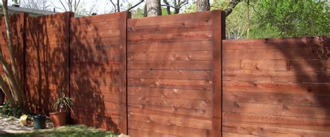 horizontal wood fence horizontal wooden fencing apple fence company