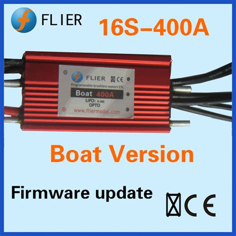 electric boat service center waterproof brushless esc 16s 400a for rc boat in parts