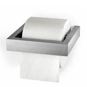 Modern Victorian Bathroom - zack linea wall mounted toilet roll holder stainless steel 40386 at victorian plumbing uk
