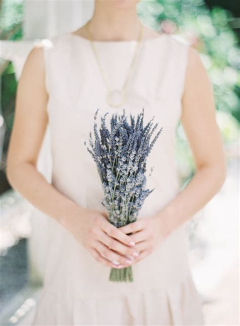 Simple Wedding Flowers by Simple Bridesmaids Wedding Bouquet Of Dried And