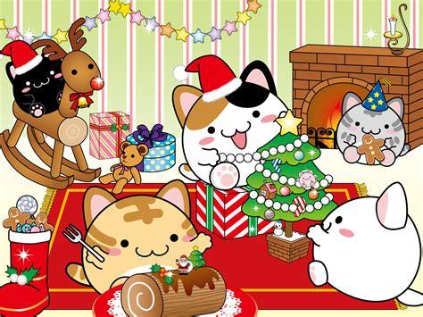 christmas wallpaper kawaii kawaii christmas wallpaper