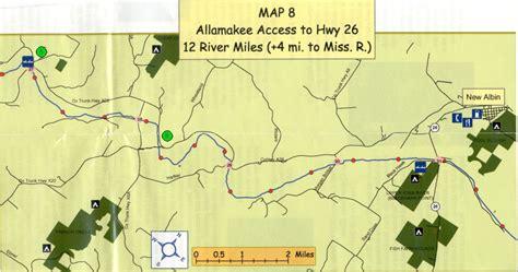 map of iowa rivers canoe creek iowa river