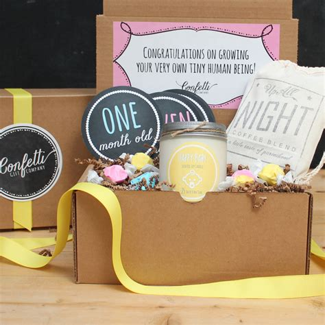 Gifts For New Mothers - new parents gift box new gift basket by