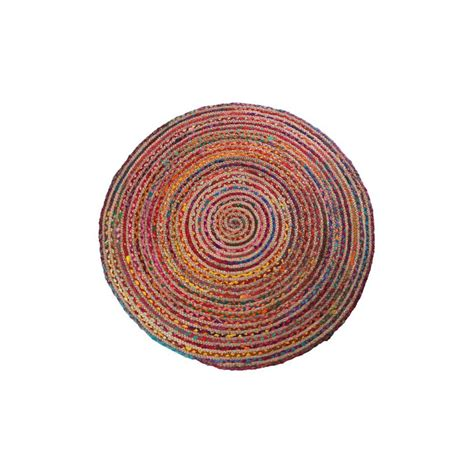 tapis rond multicolore 1254 tapis rond multicolore tapis rond multicolore d 90 cm